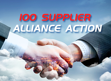 100 Supplier Alliance Action