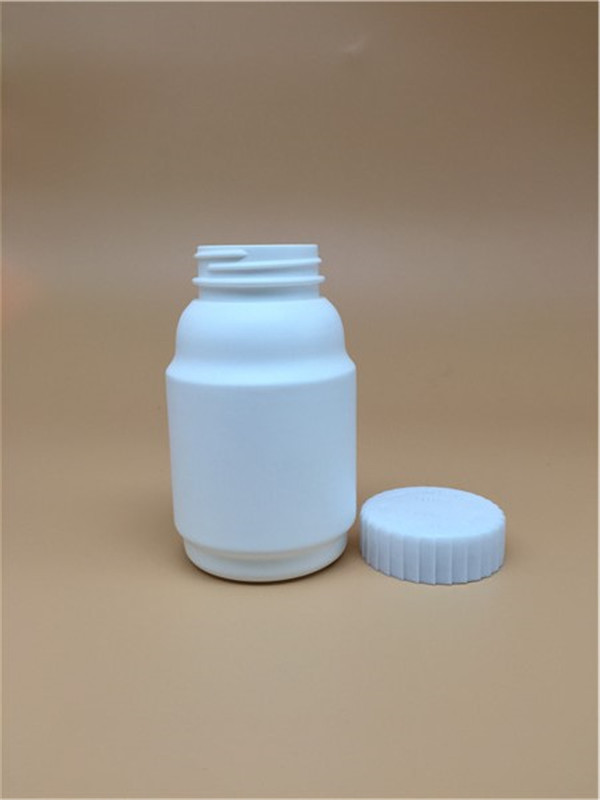 260cc pharmaceutical used bottle 260ml 9oz HDPE round plastic bottel