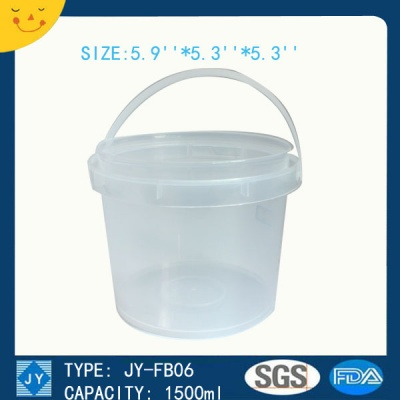 1500ml great sealing bucket container