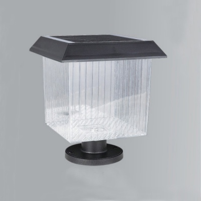 Tically Controlled IP65 Waterproof Outdoor Solar Led Pillar Light EL-3102