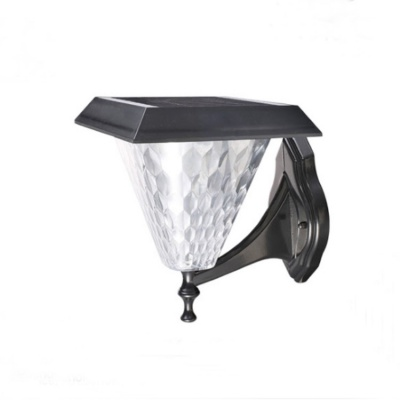 New product garden yard decorative modern led solar wall light EL-3403
