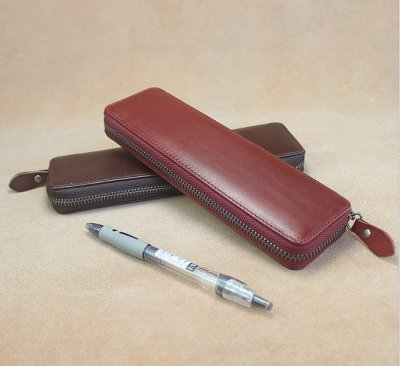 real leather pen accessories,pen loops-AZPC7013