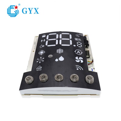 Air conditioner led display screen and keypad PCBA for Household Appliances