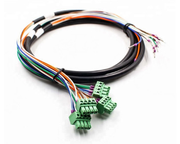 Terminals block Machine Wire Harness